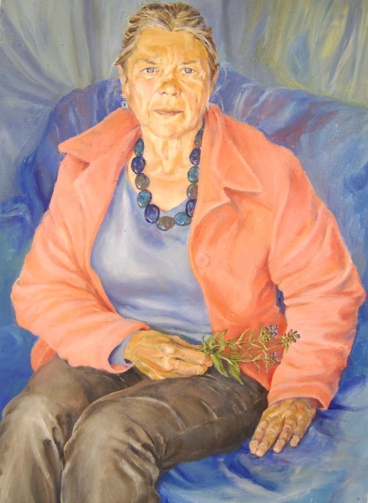 Selfheal, oil on Canvas, 2011