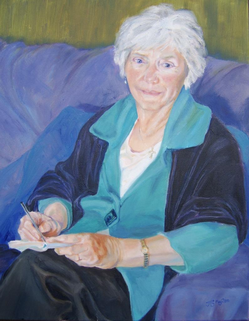 Sudoku, Oil on canvas, 2011