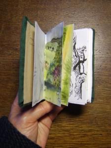 My favourite tiny sketchbook, 2015. Joanna Stone